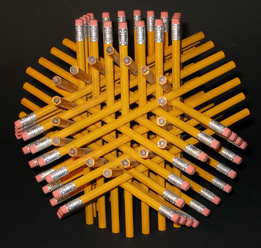 Pencils Intertwined TITLE=