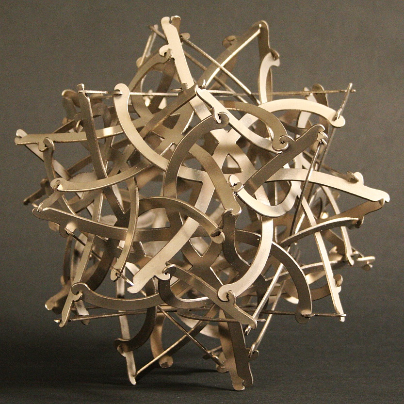 Asterisks Sculpture By George W Hart