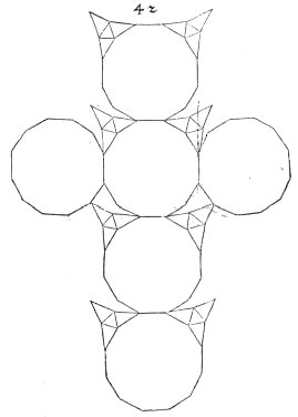 Durer 39 s polyhedra for Sphere net template