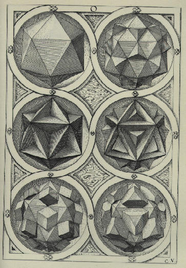 Platonic solids in artPlatonic Solids Art