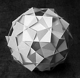 seven paper construction projects provide students with experience exploring properties and relationships of two dimensional and three dimensional geometric