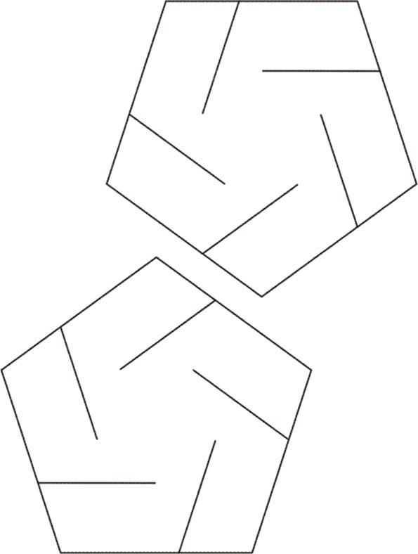 slide together geometric constructions